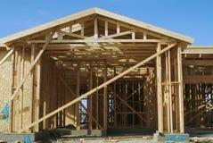 home ny lokal för konstruktion Arkivbild