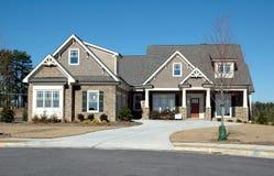 home nytt för byggnad royaltyfria bilder