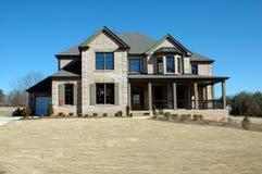 home nytt för byggnad royaltyfri fotografi