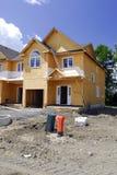 home nytt för byggnad Arkivbilder