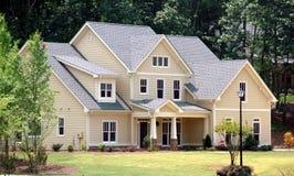 home nytt för byggnad Royaltyfri Bild
