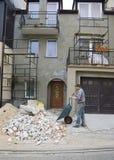 home nytt för facade Royaltyfri Foto