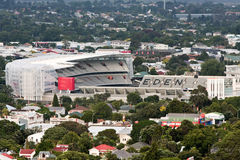 Home of NZ rugby - Eden Park, Auckland. Home of NZ rugby - Eden Park Stadium, Auckland, New Zealand Royalty Free Stock Photo