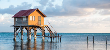 Home on the Ocean Royalty Free Stock Photo