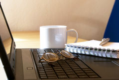 Home office royalty free stock photography