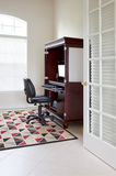 Home Office. Interior, A home office with desk and chair Stock Photo