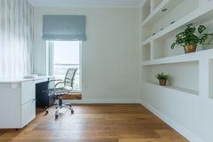 Home office area royalty free stock photos