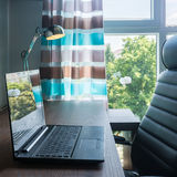 Home office area Royalty Free Stock Photography