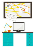 Home office Royalty Free Stock Images