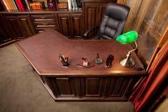Home Office de vieux type images libres de droits
