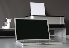 Home office desk Royalty Free Stock Photo