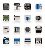 Home and Office, Equipment Icons Royalty Free Stock Photography