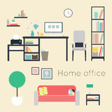 Home office. Royalty Free Stock Photography