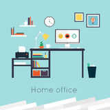 Home office. Stock Photography