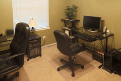 Home office inside background Royalty Free Stock Image