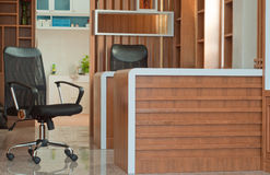 Home office interior Stock Image