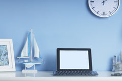 Home office interior set up Stock Photo