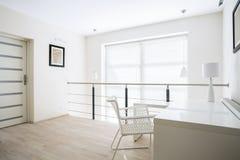 Home office on mezzanine floor Stock Images