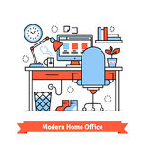 Home Office moderne Image stock
