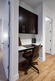 Home office nook in new modern apartment Stock Photo