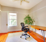 Home office room interior with desk. Stock Images
