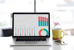 Home office setup Royalty Free Stock Photos