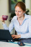 Home Office Work Royalty Free Stock Image