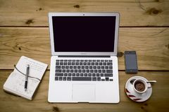 Home Office, Workstation, Office Stock Photography