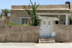 Home In Old Jericho, Israel Royalty Free Stock Photography