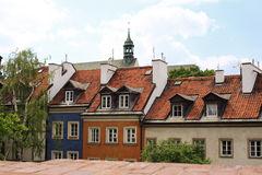 Home of the old Warsaw. The old center of Warsaw royalty free stock photography