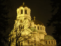 Home ot faith. Orthodox cathedral nevski in sofia Stock Photography