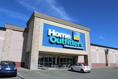 Home outfitters furnture store Royalty Free Stock Photo