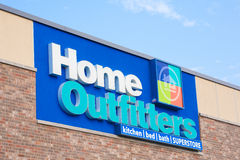 Home Outfitters Sign Royalty Free Stock Photo