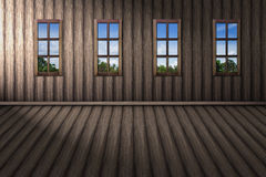 In home outside natural visible the window. Royalty Free Stock Photo
