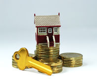 Home Ownership In Sight Royalty Free Stock Photos