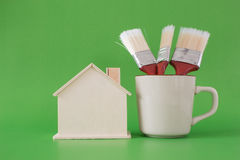 Home Paint Royalty Free Stock Photography