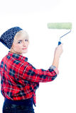 Home painter Royalty Free Stock Photo