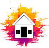 Home painting Royalty Free Stock Images