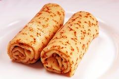 Home pancakes Stock Image