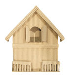 The Home paper craft. Packet concept crafts building cutout royalty free stock photos