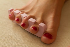 Home Pedicure  Stock Image
