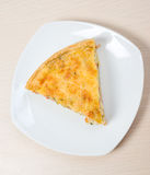 Home pie with cheese and vegetable Stock Photos