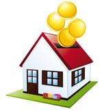 Home piggy bank. Stock Image