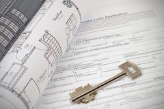 Home Plan Royalty Free Stock Image