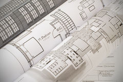 Home Plan Royalty Free Stock Image