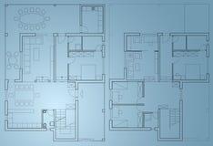 home plan för ritning Royaltyfri Foto