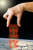 Home planet Earth Royalty Free Stock Photo