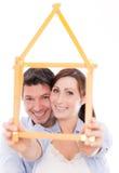 home planner för familj Royaltyfri Foto