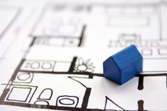 Home plans Stock Photos