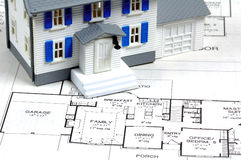 Home Plans Royalty Free Stock Photos